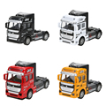 1 32 Scale Alloy Truck Head Pull Back Alloy Car Model Children Toy Gift