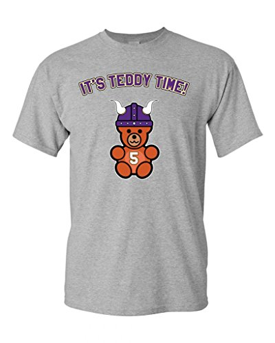 T-Shirts 2017 Brand Clothes Slim Fit Printing It's Teddy Time Minnesota DT Adult T-Shirt Tee 100 % Cotton T Shirt