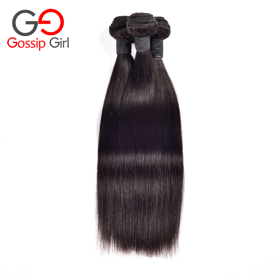 Elfin Peruvian Virgin Hair Straight 3Pcs Free Shipping 6A Grade Peruvian Human Hair Extensions Peruvian Straight Virgin Hair