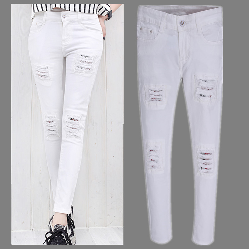 White ripped jeans for womens – Your Denim Jeans Blog