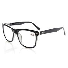 R080 Eyekepper Readers Square Large Lenses Spring-Hinges Reading Glasses Men+0.5/0.75/1/1.25/1.5/1.75/2/2.25/2.5/2.75/3/3.5/4(China (Mainland))