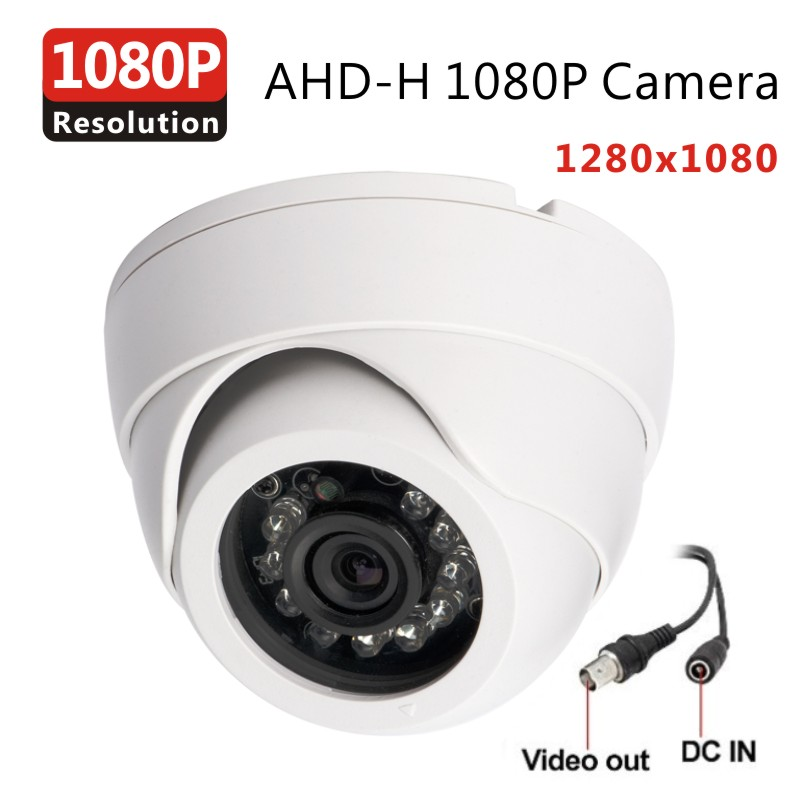 AHD Analog High Definition Surveillance Camera AHDH 2.0MP 1080P AHD CCTV Camera Security indoor outdoor using AHD 1080P DVR(China (Mainland))