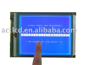 free shipping 320x240 lcd display modules with touch panel