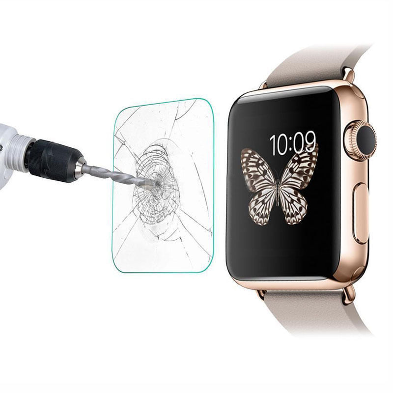 9H Premium Tempered Glass LCD Screen Protector Film For Smart Apple Watch 42mm SP AppleWatch TempperedGlass