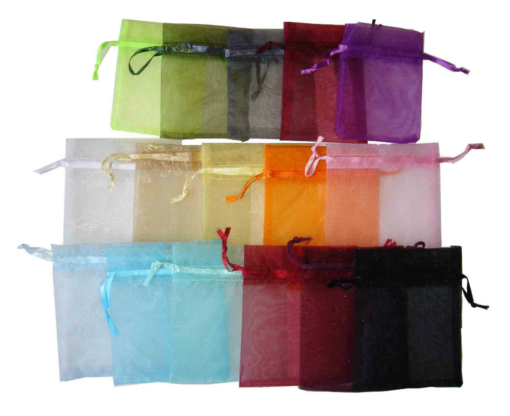 Casamento Bolsas Tulle Organza Jewelry Bags10*15 Wedding Favors And Gifts Package For Guests Party Supplies(China (Mainland))