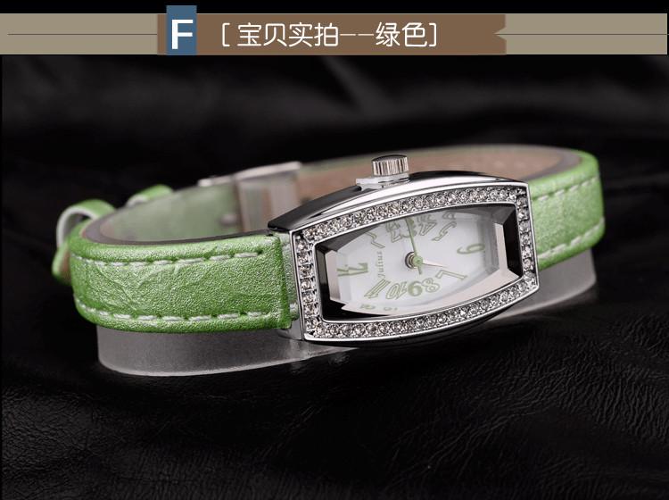 Юлий леди женские наручные часы кварцевых часов лучший мода платье горный хрусталь мульти-браслет цвета кожи девушка подарок на день рождения JA676