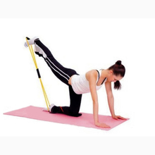 Resistance Bands Training Rope Tube Workout Exercise for Yoga Fashion Body Fitness Equipment Expander Fitness