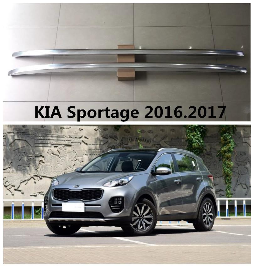 For KIA Sportage 2016.2017 Roof Racks Car Luggage Rack High Quality Brand New Aluminium Paste Installation Auto Accessories(China (Mainland))