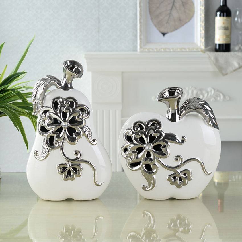 Porcelain apple promotion shop for promotional porcelain Pear home decor