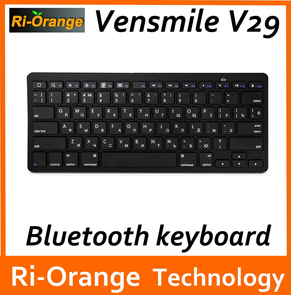 Vensmile V29 wireless Bluetooth gaming Keyboard for Android Phone Laptop Desktop Computer Mini PC for iOS computer keyboard(China (Mainland))
