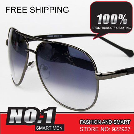 Free Shipping Sale Price New Fashion Designer Brand Smartmen Sexy Goggle High Quality Smart Alloy Sunglass 8680(China (Mainland))