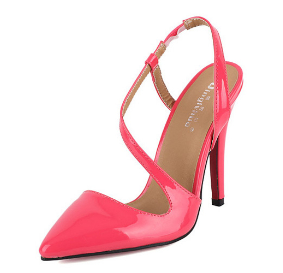 Aliexpress.com : Buy Nude heels pointed toes high heels red bottom ...