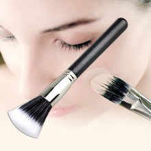 New Cosmetic Foundation Women Face Makeup Fiber Stipple Powder Blush Brush Free Shipping
