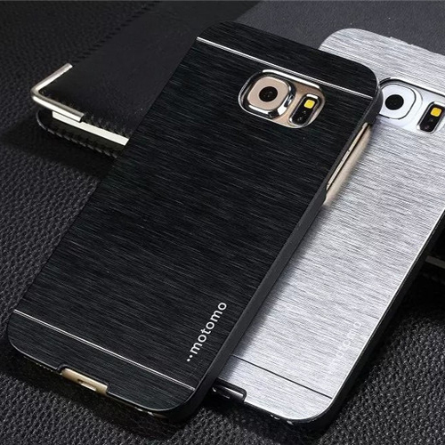 MOTOMO hybrid PC+Aluminum metal case for samsung galaxy s6 edge plus brushed metal back cover for galaxy s6 edge plus(China (Mainland))