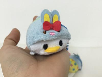 Wholesale! TSUM TSUM plush toy Easter style Win bear Tigger Dasiy Donald Duck piggy plush pendant doll for phone(China (Mainland))