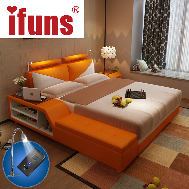 Ifuns Luxury Bedroom Furniture Sets King Queen Size