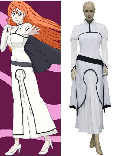 Bleach Orihime Inoue Arrancar Cosplay Costume for Chrismas (Freeshipping))