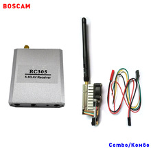 BOSCAM rc fpv av transmitter receiver combo 5.8ghz 500MW 8CH long range wireless audio video quadcopter TX RX for airplane drone