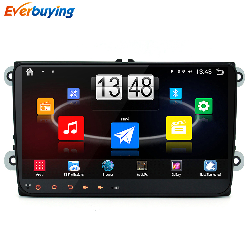 Android 4.4 Quad core 16GB 1024*600 Car DVD Player VW Skoda POLO GOLF 5 6 PASSAT CC JETTA TIGUAN TOURAN BORA CADDY car gps dvd(China (Mainland))