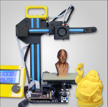 2015 Upgraded Quality High Precision Reprap Prusa i3 DIY 3d Printer kit with 2 Rolls Filament and LCD for Free