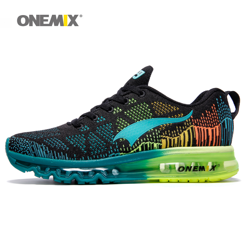 2016 Onemix men's sport running shoes music rhythm men's sneakers breathable mesh outdoor athletic shoe size 39-46 free shipping(China (Mainland))