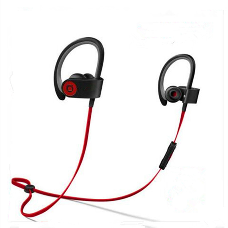 2017 new Listed famous brand Wireless Bluetooth headset with Mic earphone Sport Running Ear hook Headphones Stereo headset(China (Mainland))