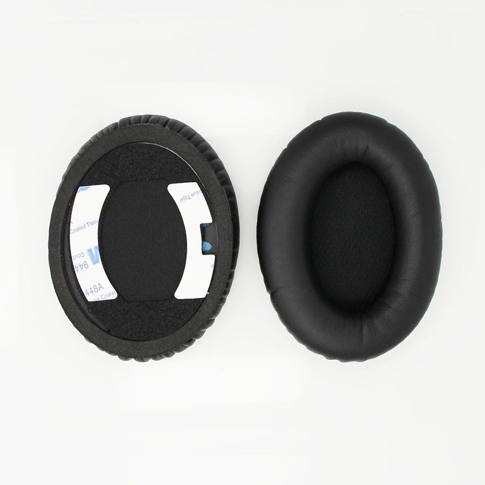 Free shipping Black Replacement Ear Pads Cushion Earpads For Bose QC15 QC2 AE2.AE2i AE2w Headphones with Goo quality