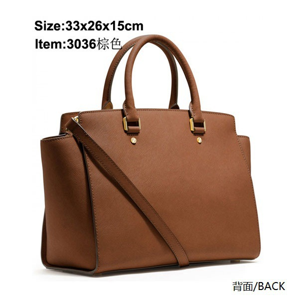 2015 HOT SELL New Fashion Famous Designers Brand Michaeled handbags women bags PU LEATHER BAGS/shoulder tote bags 3036/2010(China (Mainland))