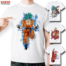 [EATGE] Anime Series Dragon Ball Z T Shirt Fashion Brand Short Sleeve Printed Tshirt Men Casual Funny White Goku T-shirt Women