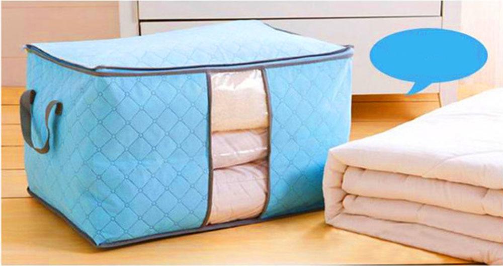 clothing storage box quilt storage case bedding organizer