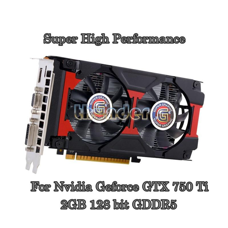 upgrad Graphics Cards for Nvidia Geforce GTX750Ti 2048MB GDDR5 128bit 1070/5500MHz(China (Mainland))