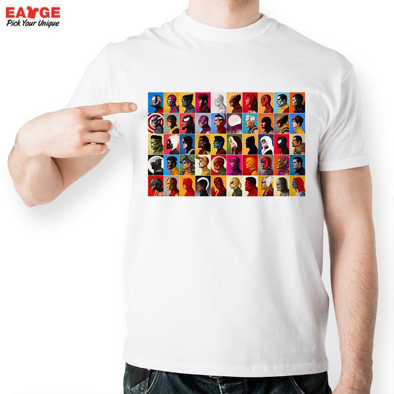 [EATGE] Super Hero All Star T Shirt Design Marvel Comic Xmen Apocalypse X T-shirt Cool Novelty Funny Tshirt Men Women Print Tee(China (Mainland))