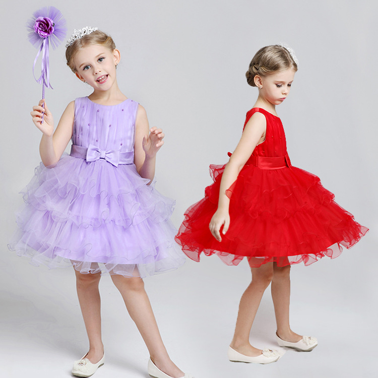 2015 New Arrival Kids Girl dress Cute girl princess Wedding party Dress children dress for girl Evening Dresses