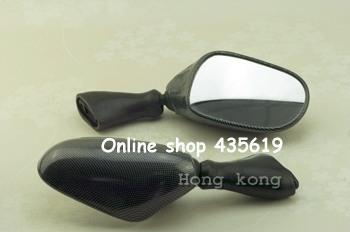 Motorcycle Mirrors For Suzuki Katana GSX 600F / 750F 1998-2002 Jet Black Racing Mirrors(China (Mainland))