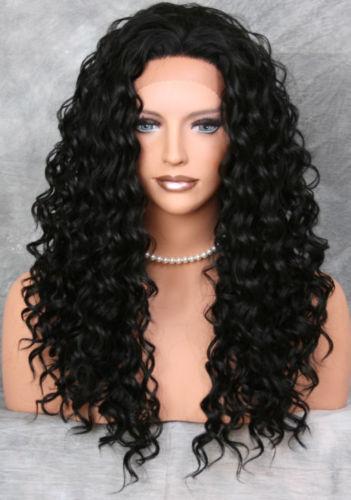 Free shipping Grade 7a  Brazilian hair Glueless Front Lace wigs/Full lace wigs Deep Wave brazilian human full lace wigs<br><br>Aliexpress