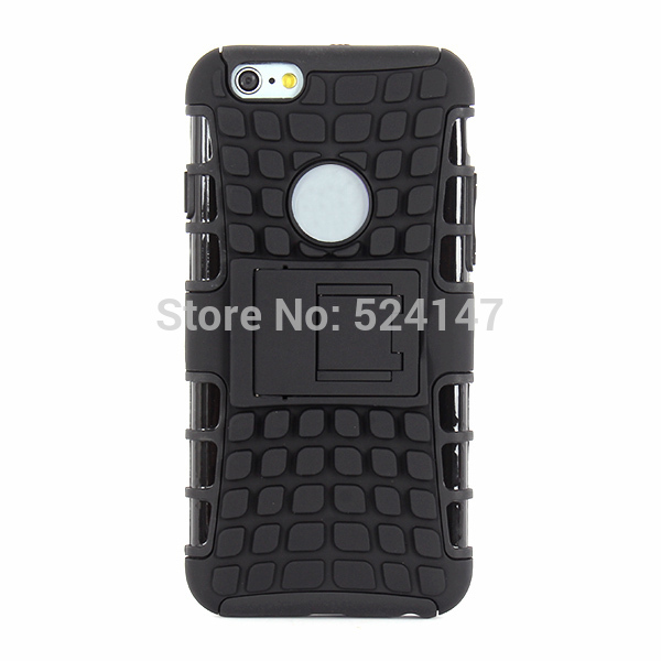 New Mobile Phone Cases New Shockproof Dustproof Hybrid Armor Impact Case Cover w/Stand For iPhone 6(China (Mainland))