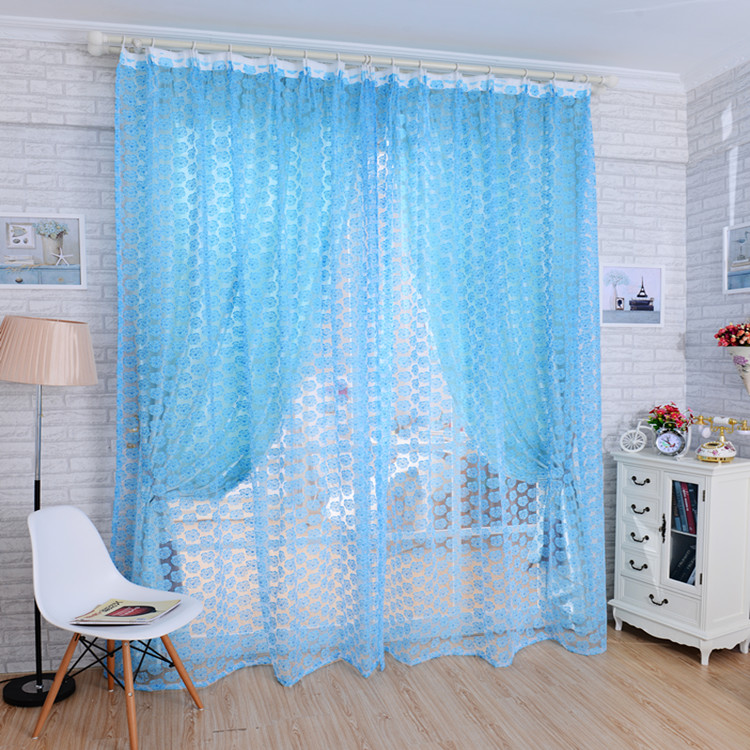achetez en gros pastel curtains en ligne des grossistes pastel curtains chinois aliexpress. Black Bedroom Furniture Sets. Home Design Ideas