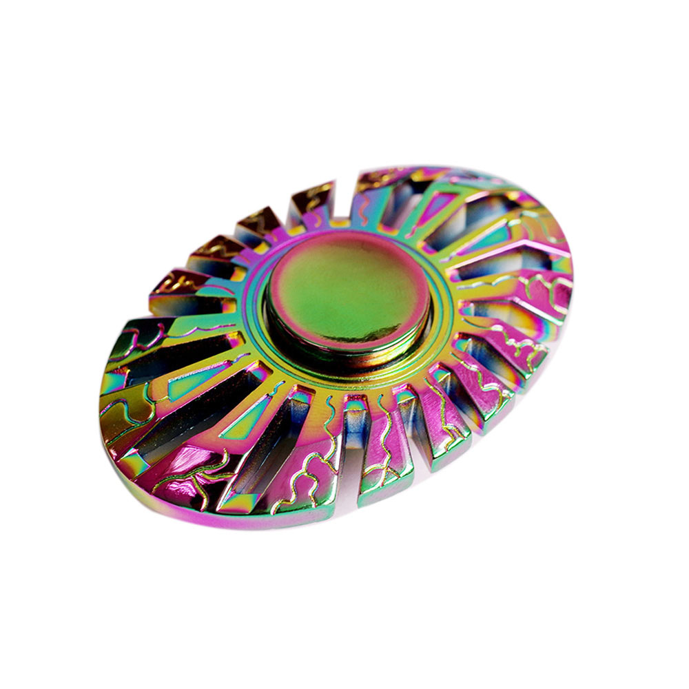 New Thor Multicolor Fidget Spinner Rainbow EDC Toys Hand Spiner Rotation For Autism and ADHD Anti Stress Spinner 2 Hand Toy