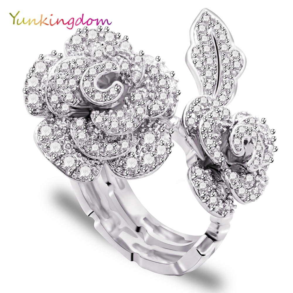 Fantastic  Women Ring Dress Party Ladies Fashion Brass Jewelry In Rings From