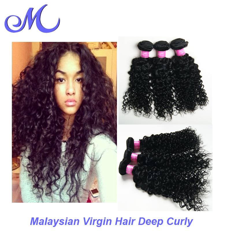 Sexy Formula Hair Malaysian Curly Malaysian Deep Curly Virgin Hair 7A Silver Human Hair Extensions Curly Tangle And Shed Free(China (Mainland))