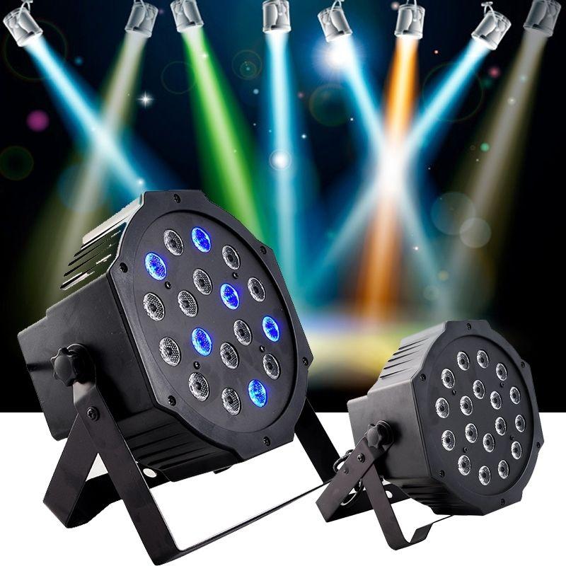 Sale!18 LED Light 54W RGB PAR64 PAR Stage Club Dj Xmas and new year party Stage Light(China (Mainland))