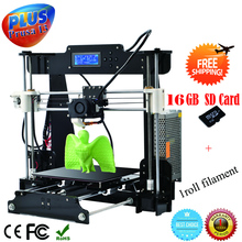 High Precision LCD Screen Reprap Prusa I3 DIY 3D Printer 3 D impressora KIT 3d Printers machine Gift 0.5Kg Filament/8G SD Card