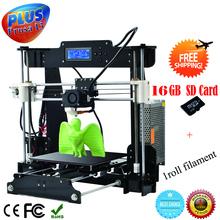 High Precision LCD Screen Reprap Prusa I3 DIY 3D Printer 3 D impressora KIT 3d Printers
