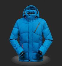 2017 En hiver du Canada plus populaire Hommes de manteau, Randonnée en plein air vers le bas veste, vers le bas plume, vestes, manteaux, Numéro de Modèle: 300(China (Mainland))