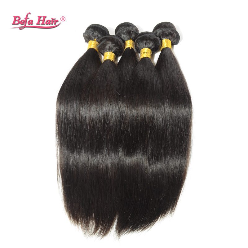 3pcs lot Grade 6A unprocessed brazilian virgin hair straight free shipping natural free shedding and tangle remy hair