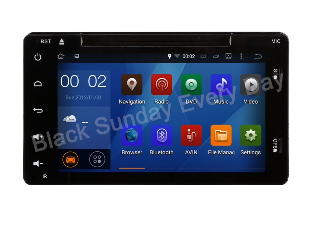 NEW Full touch Screen 16G 1024*600 QUAD Core Android 5.1.1 Fit TOYOTA COROLLA 2017 2018 - Car DVD Player head unit DVD GPS Radio(China (Mainland))