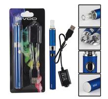Evod MT3 Blister Kit Electronic Cigarette MT3 atomizer 650mAh 900mAh 1100mAh Evod Logo Battery E Cigarettes 10 Colors