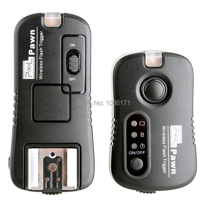 Pixel TF-362 2.4GHz Wireless Remote Flash Trigger Transmitter & Receiver for Nikon Kodak <font><b>Fuji</b></font> <font><b>DSLR</b></font> Cameras