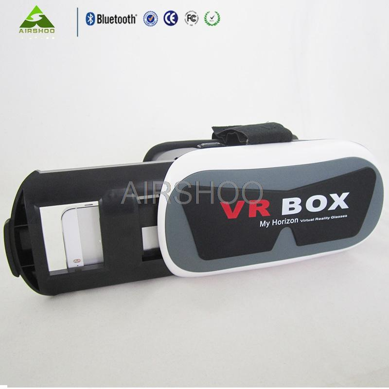 """Newly designed Batman VR Virtual Reality 3D Glasses Headset Head Mount Cardboard for 3.5""""-6"""" Phone + Bluetooth Remote Control"""