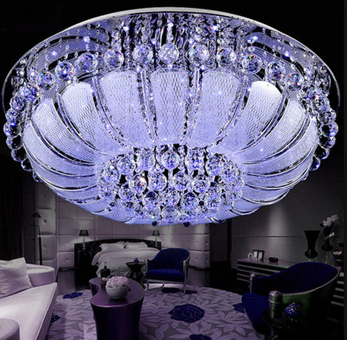 led ceiling lights luxury crystal lamp living room dining room bedroom